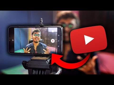 Shoot Your YouTube Video Professionally On Mobile In 2019   Full Android Tutorial