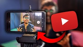 Shoot your YouTube video Professionally on Mobile in 2019 | Full Android Tutorial
