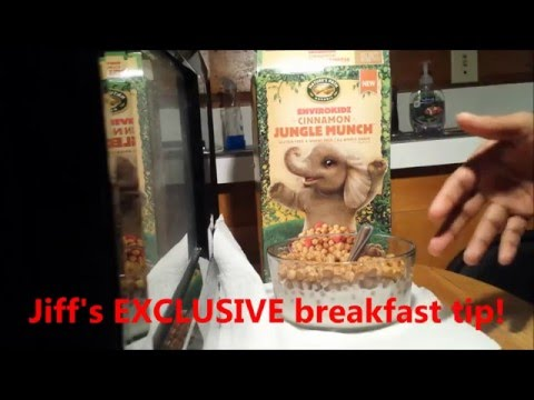 UNBOXING Jungle Munch plus AWESOME breakfast tip [FULL HD]