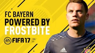 FC Bayern in FIFA 17 ft.  Neuer, Lewandowski, Costa, Coman, and Müller thumbnail