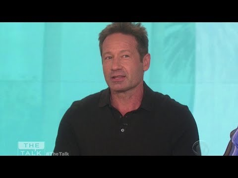 David Duchovny on The Talk