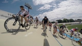 A Day in the Life: Racing Bikes in a Velodrome and Crit