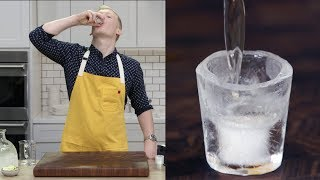 Ice Shot Glasses For Your Next Party | Mad Genius Tips | Food & Wine