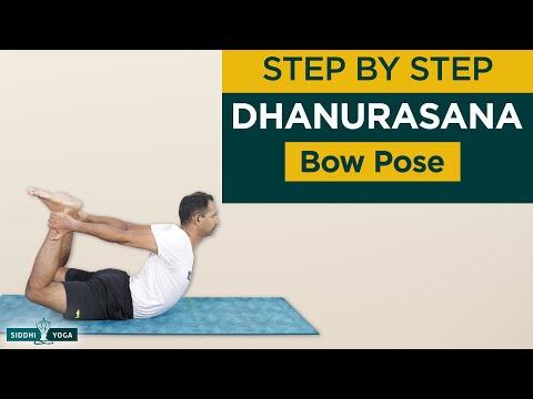 Dhanurasana (Bow Pose) Benefits, How to Do & Contraindications by Yogi Sandeep Siddhi Yoga