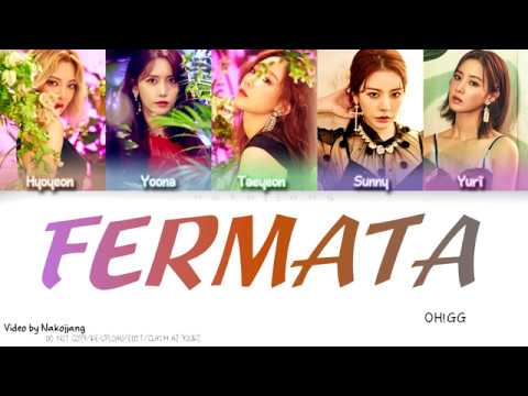 Girls Generation-OH!GG (소녀시대) - Fermata (쉼표) (Color Coded Lyrics Eng/Rom/Han)