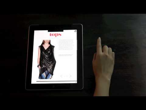 Aquila Style The Happy New You Issue 2012 tablet magazine