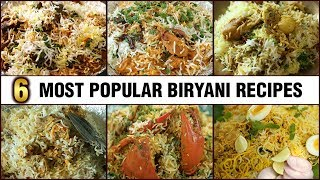 BEST BIRYANI RECIPES - Chicken Biryani | Mutton Biryani | Egg Biryani and more |  Get Curried