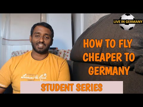 How To Fly Cheaper To Germany From India? | STUDENT Series | #LiveinGermany