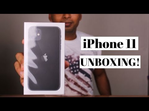 iPhone 11 Unboxing and First Impressions!!