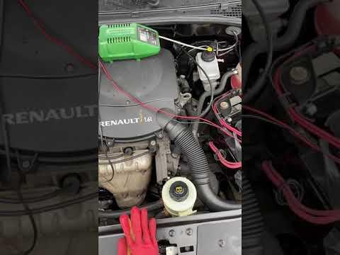 поиск номера  двигателя Рено -Логан