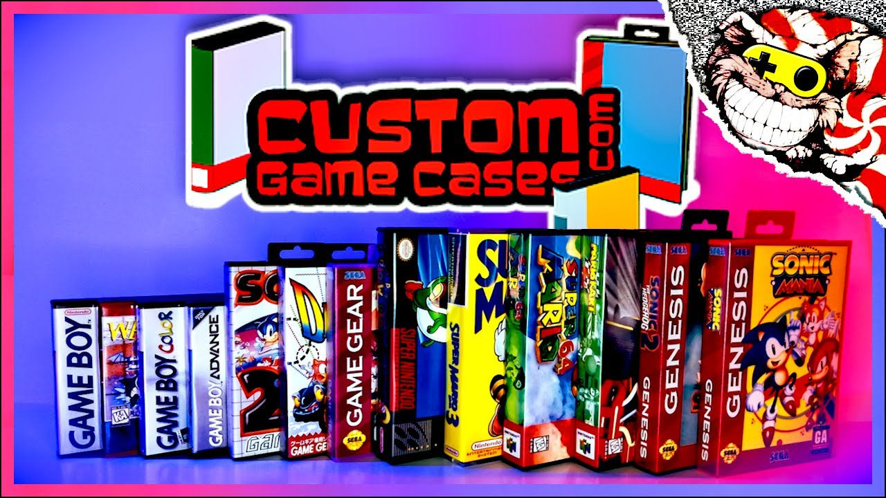 Custom Game Cases – Full Product Line Overview