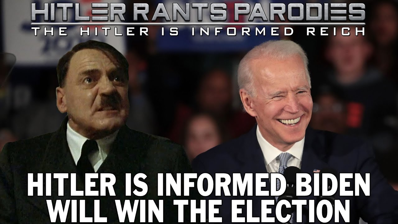 Hitler is informed Biden will win the election