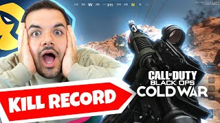 I set the KILL RECORD on Cold War...