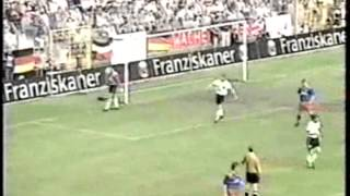 Germany v Liechtenstein 4th JUN 1996