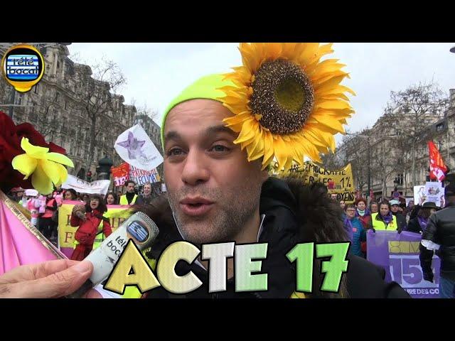 Acte 17 des Gilets Jaunes sur les Champs Élysées
