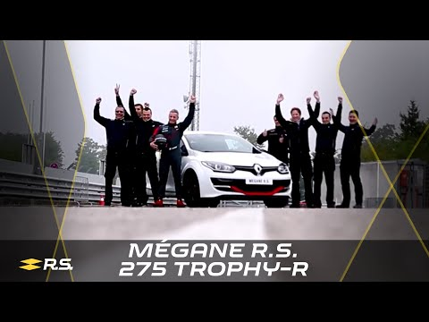 Renault Mégane R.S. 275 Trophy-R Nürburgring Nordschleife lap record (full version) #UNDER8