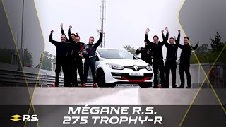 Renault Mégane R.S. 275 Trophy-R Nürburgring Nordschleife lap record (full version) #UNDER8 thumbnail