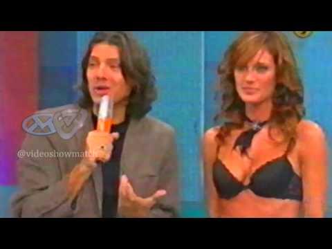 El dia que Marcelo presento a Paula Chavez en Showmatch(2005)