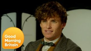 Eddie Redmayne Gets Tested on His Fantastic Beasts Knowledge (Extended) | Good Morning Britain