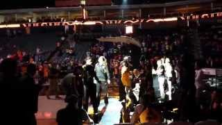 Tulsa Shock Player Introduction 06/13/2014