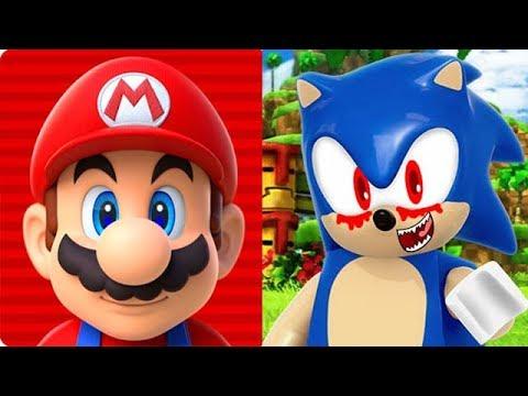 Super Mario Run vs LEGO SONIC EXE