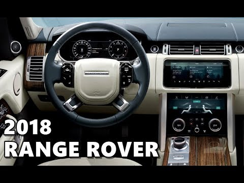 2018 Range Rover Vogue Interior Highlights Youtube