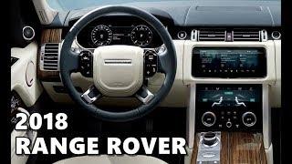 2018 Range Rover Vogue INTERIOR Highlights