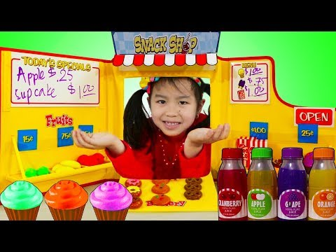 Jannie Pretend Play Baking With Snack Shop Toy Set