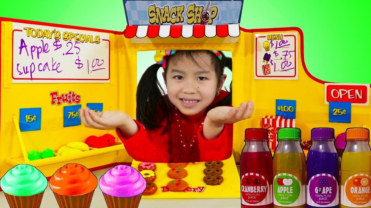 Jannie Pretend Play Baking With Snack Shop Toy Set Doovi