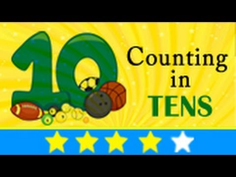 Cool Math Song - Counting in Tens
