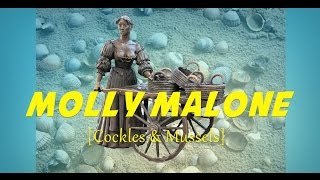 Molly Malone (Cockles & Mussels) (instrumental nursery rhyme - lyrics video for karaoke)