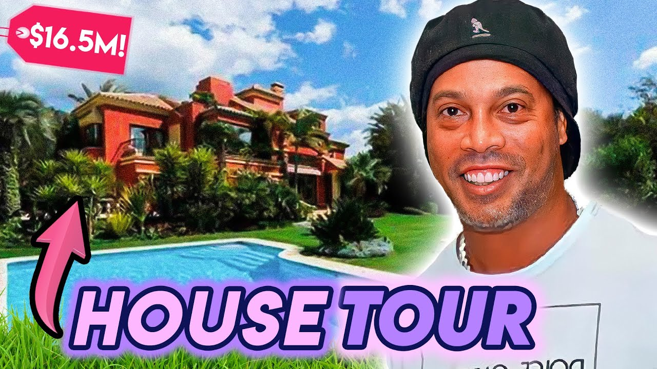 Ronaldinho | House Tour | $16.5 Mansion, Luxury Hotel Arrest In Paraguay & More