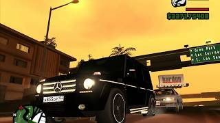 GTA SA/Grand Theft Auto San Andreas/Mercedes-Benz G55 AMG/V8 Kompressor/GTA SA MOD