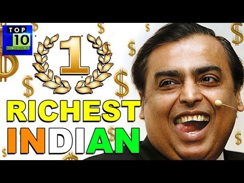 10 Richest Indian    Too Much Money - 2016