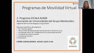Charla informativa, Intercambios virtuales