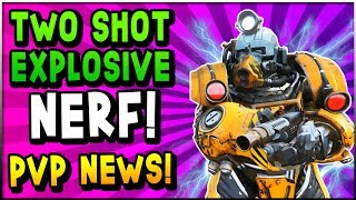 Fallout 76 - HUGE NEWS! Legendary Two Shot Explosive NERF, PVP Servers & Game Mode, Player Bans!