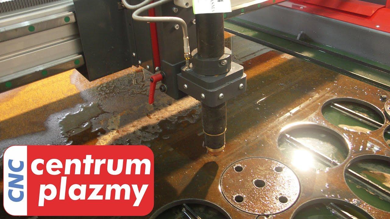 Bardzo dobra Centrum Plazmy - CNC Lincoln FlexCut 125 pierwsza plazma w Polsce WU09