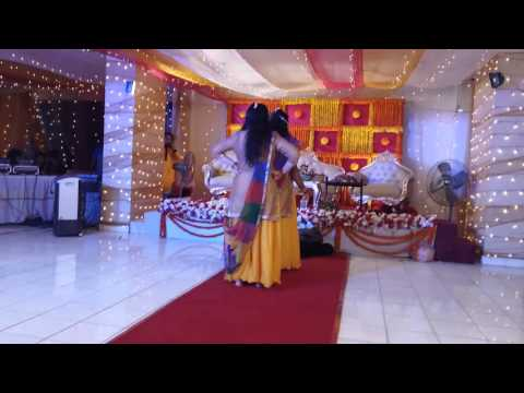 Dance basanti - rajib & disha's holud