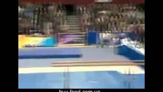 Мировой рекорд в прыжке через козла
