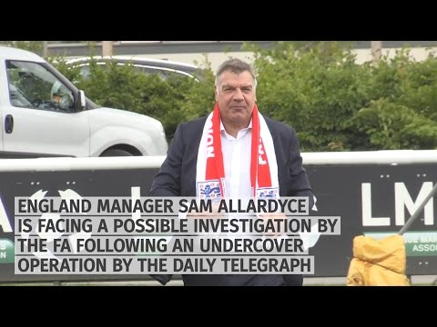 Sam Allardyce - England Manager Could Face FA Investigation