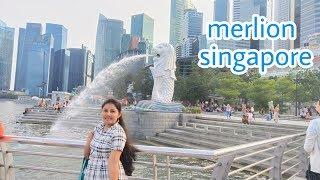 Vlog singapore merlion towers travel vlogs telugu vlogs from Singapore singapore tour  