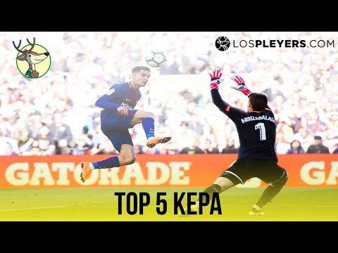El Top 5 Atajadas de Kepa