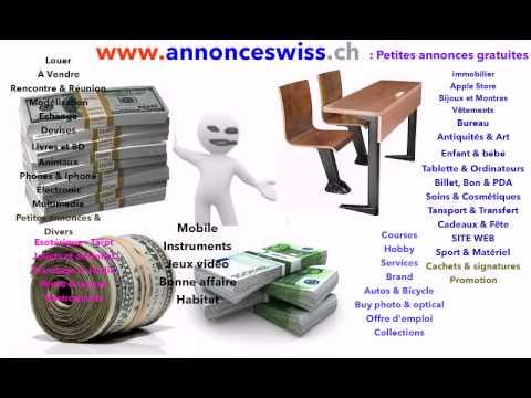 petites annonces gratuites en suisse youtube. Black Bedroom Furniture Sets. Home Design Ideas