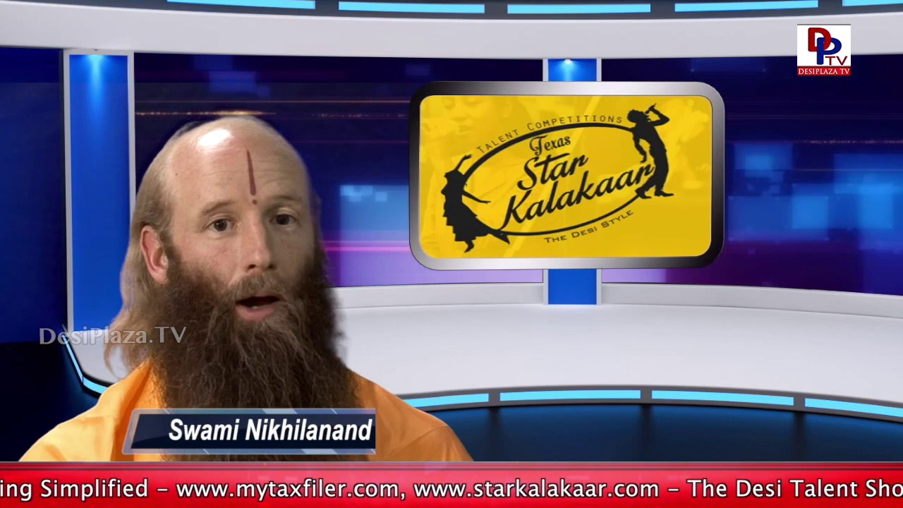 Swami Nikhilanand Blessings to Desiplaza viewers || Interview Promo || Desiplaza || Dallas