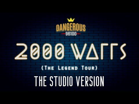 Michael Jackson - 2000 Watts - The Legend World Tour (Studio Version)