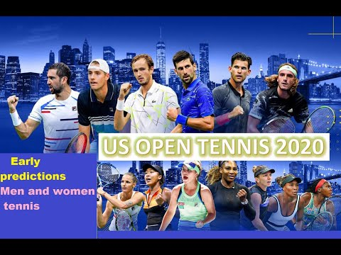 US OPEN 2020: Early Predictions (M &F) 🎾🎾🎾🎾 #tennis #usopen #usopen2020 #tennis #grandslam #sports