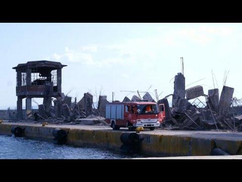 Sismo na Grécia destrói Porto de Pireu