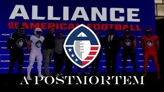 The Alliance of American Football: A Postmortem