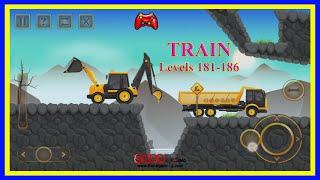 #31 Construction City 2   TRAIN   Level 181-186 screenshot 3