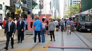 TIFF 2018 Toronto International Film Festival Street Walk #tiff